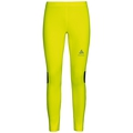 Tights ZEROWEIGHT, safety yellow with print FW17, large