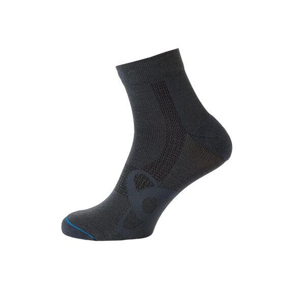 Socks short Natural +  Light, odlo graphite grey, large