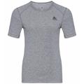 Women's ACTIVE WARM Base Layer T-Shirt, grey melange, large