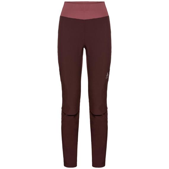 Women's AEOLUS Pants, decadent chocolate - roan rouge, large