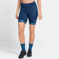 Damen ZEROWEIGHT CERAMICOOL PRO Radshorts, estate blue, large