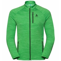 Midlayer full zip MYTHEN, classic green, large