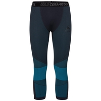 BL Pantaloni 3/4 CERAMICOOL MOTION, blue jewel - black, large