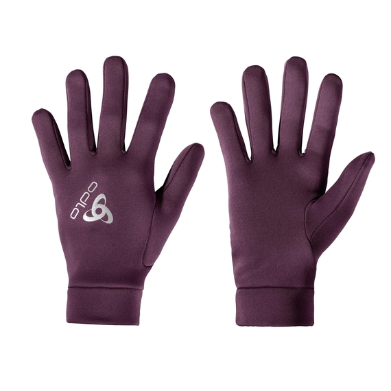 STRETCHFLEECE LINER WARM Gloves, pickled beet, large