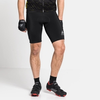 ELEMENT-fietsshort voor heren, black, large
