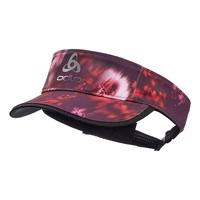 CERAMICOOL LIGHT Visor, plum perfect - flower AOP SS19, large