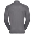 FLI Midlayer, odlo graphite grey - odlo concrete grey - stripes, large