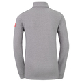 Midlayer 1/2 zip CARVE KIDS - ready for print, odlo concrete grey melange, large