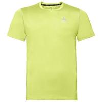 T-shirt CERAMICOOL ELEMENT da uomo, sunny lime, large
