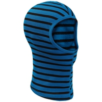 ORIGINALS WARM Gesichtsmaske, directoire blue - black - stripes, large