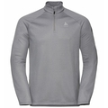 Pull 1/2 zip PILLON pour homme, grey melange, large