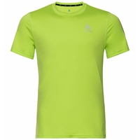 Men's CERAMICOOL ELEMENT T-Shirt, green glow, large