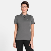 Women's CARDADA Polo Shirt, odlo steel grey, large