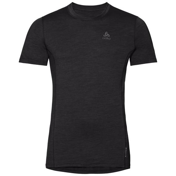 Men's NATURAL + LIGHT Base Layer T-Shirt, black, large