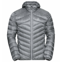 Men's HOODY COCOON N-THERMIC WARM Insulated Jacket, monument, large