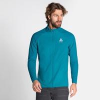 Men's ZEROWEIGHT WARM HYBRID Running Jacket, tumultuous sea, large