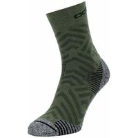 Halflange uniseks CERAMICOOL HIKE GRAPHIC-sokken, climbing ivy - graphic SS21, large