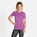 T-shirt SEAMLESS ELEMENT da donna, hyacinth violet melange, large