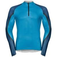 Combinaison de course AEROFLOW, blue jewel - poseidon, large