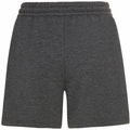 Damen RUN EASY Shorts, black melange, large