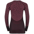 Women's BLACKCOMB Long-Sleeve Base Layer Top, black - cerise - cerise, large
