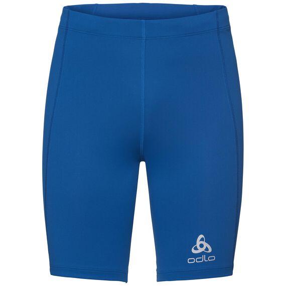 SLIQ running Tights short men, energy blue, large
