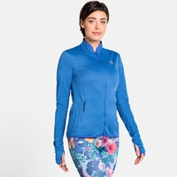 Damen FLI CERAMIWARM Midlayer, amparo blue - marina - stripes, large