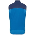 Men's ZEROWEIGHT Cycling Vest, estate blue - directoire blue, large