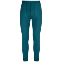 Men's NATURAL 100% MERINO WARM Base Layer Pants, blue coral, large