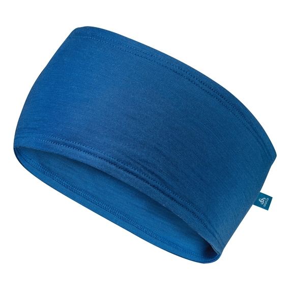 Headband NATURAL+ OUTDOOR, energy blue, large