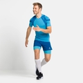 Men's ACTIVE SPINE 2.0 Running T-shirt, horizon blue, large