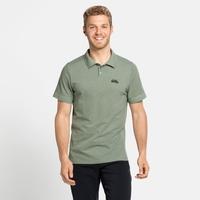 Men's NIKKO Polo Shirt, matte green melange, large