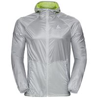Jacket ZEROWEIGHT Light, silver - acid lime, large
