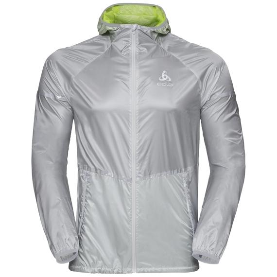 Jacket Zeroweight PRO, silver - acid lime, large