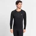 Men's PERFORMANCE LIGHT Long-Sleeve Base Layer Top, black, large