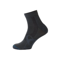 Socks short Natural +  Light, odlo graphite grey, large