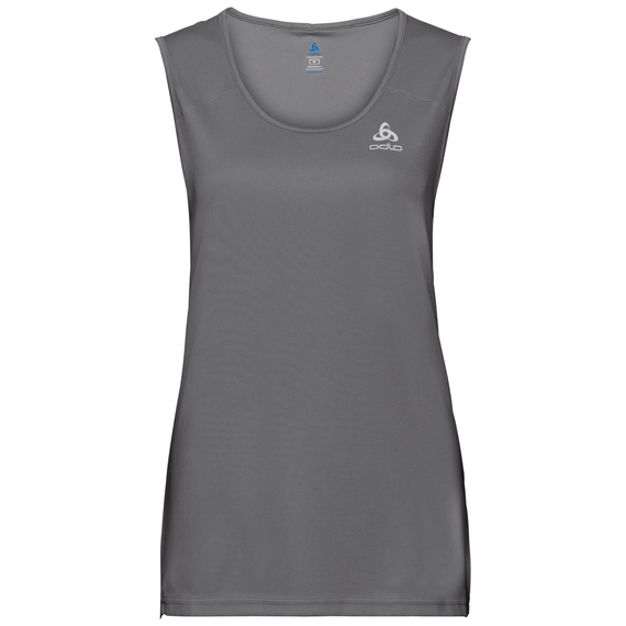 BL TOP CARDADA, odlo steel grey, large