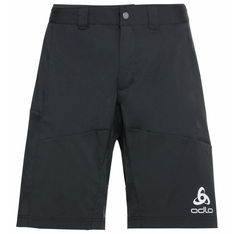 MORZINE fietsshorts met binnenslip voor heren, black, large