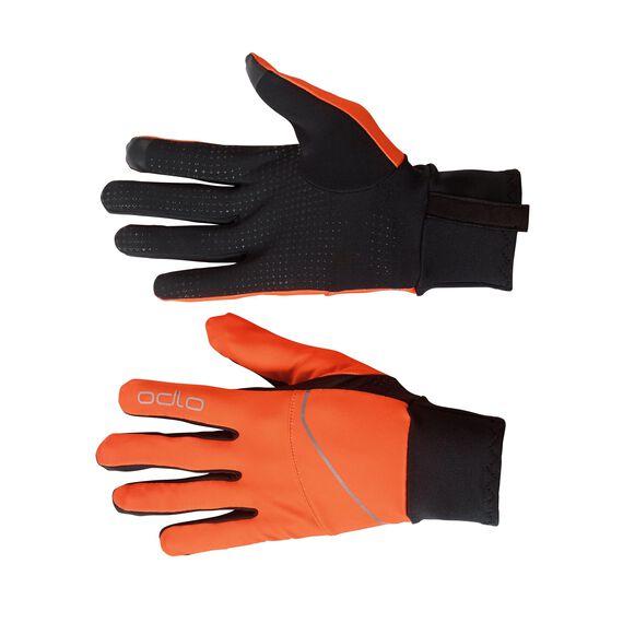 Gloves INTENSITY SAFETY Light, orange clown fish - black, large