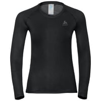 Women's ACTIVE F-DRY LIGHT Long-Sleeve Base Layer Top, black, large