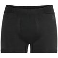 PERFORMANCE WARM ECO-basislaag-sportboxershort voor heren, black - odlo graphite grey, large