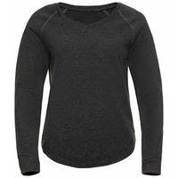 ALMA NATURAL-tussenlaagtop voor dames, dark grey melange, large