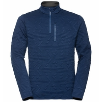 Men's CORVIGLIA KINSHIP Midlayer, estate blue, large