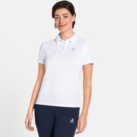 Women's F-DRY Polo Shirt, white, large