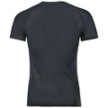 SUW TOP Crew neck s/s ACTIVE Cubic LIGHT, ebony grey - black, large
