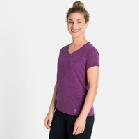 Damen LOU LINENCOOL T-Shirt, charisma melange, large