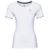 Damen ZEROWEIGHT CERAMICOOL LIGHT T-shirt, white, large