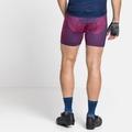 Men's SUMMER SPLASH Cycling Base Layer Boxer, beetroot purple - estate blue, large
