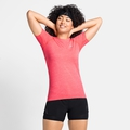 T-shirt ESSENTIAL SEAMLESS da donna, siesta melange, large