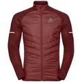Jacket IRBIS HYBRID Seamless X-Warm, syrah - fiery red, large